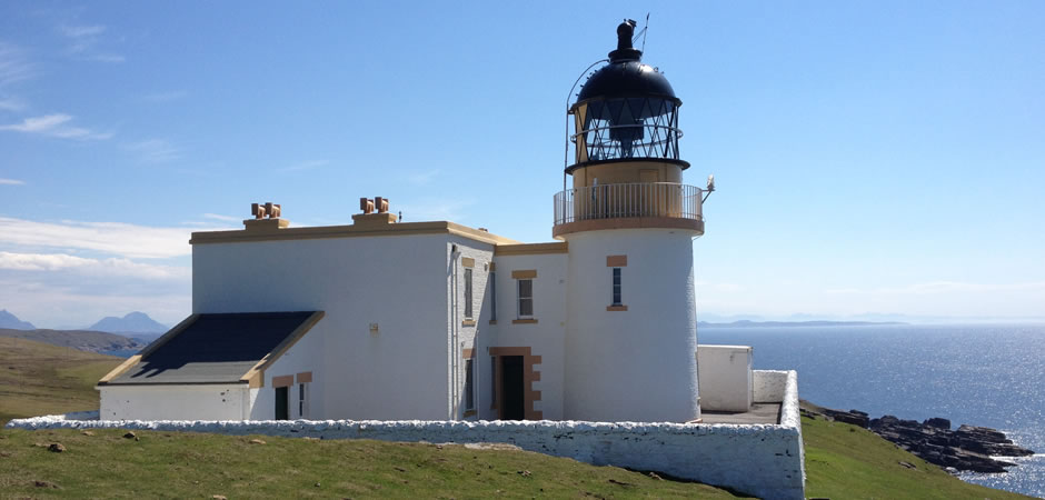 Stoer Lighthouse slef catering accommodation